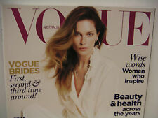 BRAND NEW: VOGUE AUSTRALIA JUNE 2011 ERIN WASSON COVER