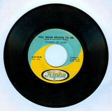 Philippines MANNY DE LEON The Love We Once Knew OPM 45 rpm Record