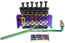 Floyd Rose 1000 Series Double Locking Tremolo with R3 Nut, BURNT CHROME