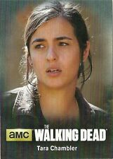 2016 The Walking Dead Season 4 Part 2 CHARACTER BIO C17 Tara Chambler