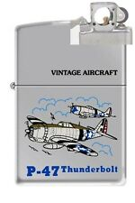 Zippo 250 P-47 Thunderbolt WW2 Lighter with PIPE INSERT PL