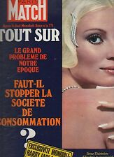 paris match n°1212 / evelyn hardy face a barbie  / 1972