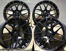 "19"" BLACK MS007 ALLOY WHEELS FIT MERCEDES A B C E R CLASS CLA GL GLK VIANO VITO"