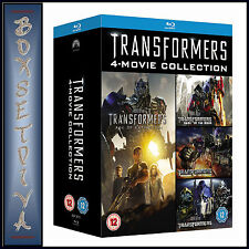 TRANSFORMERS - 4 MOVIE COLLECTION   ***BRAND NEW BLU-RAY BOXSET **