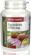 Equinácea 3200mg |2 x 60 Comprimidos | Simply Supplements (S547)