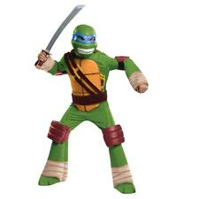 NEW Teenage Mutant Ninja Turtles LEONARDO Deluxe Child Halloween Costume L 10-12