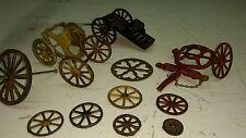 Vintage Cast Iron Toy Parts Lot