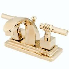 Polished Brass Bathroom Sink Faucet Faucets New