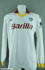 AS Rom Auswärts Away Trikot 1991 - 1992 - L - ADIDAS - LARGE - AS Roma - TOP