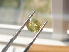 SRI LANKA'S RARELY SEEN XMAS TREE SPHENE W/ RED,GREEN,YELLOW TWINKLE 1.19CT.