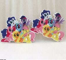 My Little Pony Inspired Planar Resin - Plastic-Hair Bow Center-Supplies