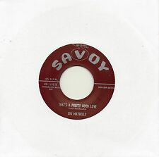 BIG MAYBELLE   THAT'S A PRETTY GOOD LOVE/ TELL ME WHO   SAVOY Re-Iss/Re-Pro  R&B