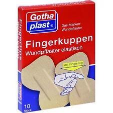 FINGERKUPPEN WUNDPFLASTER elast. m.Fingerling 10 St