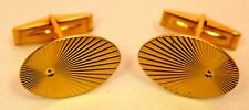 Mens 14K Solid Yellow Gold 11.39gram Cufflinks