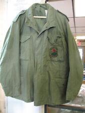 VINTAGE VIETNAM AIR FORCE Cold Weather Zip/Snap Coat Men XLG REULAR RED HORSE