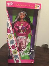 NRFB SPECIAL EDITION 1994 NATIVE AMERICAN BARBIE, DOLLS OF THE WORLD COLLECTION