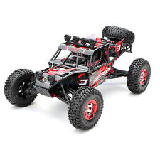 Red RC Desert Off Road Truck Car Buggy 4x4 Electric 1/12 Jeep Style Drift Racing