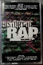 History of Rap, Vol. 2 Compilation (Cassette 1996, Cold Front) NEW