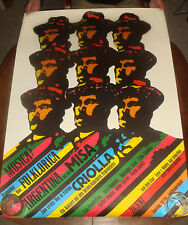 Rare 1967 ARGENTINA Folk Music Festival Latin GUNTHER KIESER Psychedelic POSTER