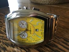 "NEW! (w/o Tags) SWISS ELINI NEW YORKER ""Grand"" MEN'S CHRONO w/DATE!  MSRP $1050!"