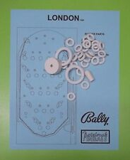 1969 Bally London pinball / bingo rubber ring kit