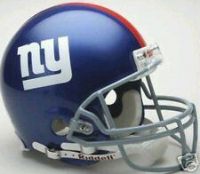 NEW YORK GIANTS RIDDELL AUTHENTIC PRO LINE NFL FOOTBALL FULL SIZE HELMET