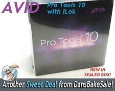 AVID Pro Tools 10 Software Version 10.0 With DVDs and iLok Licensed Dongle NIB
