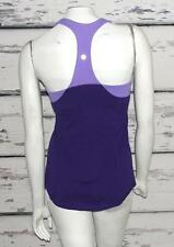 LULULEMON-BI-COLOR~PURPLES-LUON®-SCOOP-NECK-TANK-GYM-WORK-OUT-YOGA-TOP-8