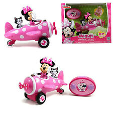 Disney Minnie Mouse Electric RC Radio Remote Control Airplane Car Kid Toy Gift