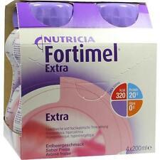 FORTIMEL Extra Erdbeergeschmack 4X200 ml