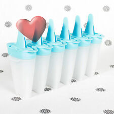 NEW Tupperware Lolli Tups Ice Block Moulds set of 6 Blue plus Bonus
