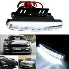 2x 8LED Car Fog Lamp 12V Daytime Driving Running White Light DRL Waterproof DC