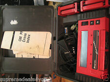 SNAP ON TOOLS Diagnostics MT2500 SCANNER W/ BOX, CABLE AND CARTRIDGES