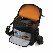 Olympus E-5 Camera Case Bag With Shoulder Strap Memory Card Mobile Phone Pocket