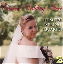 Lumiere String Quartet-Classical Wedding Music  CD NEW