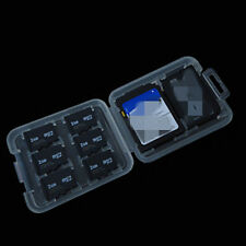 8 Slot Plastic Storage Holder Carrying Box Case For Micro SD TF MS Memory Card B