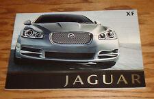 Original 2009 Jaguar XF Deluxe Sales Brochure 09