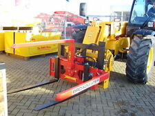 Forklift box rotator for firewood & potatoes. Forklift and telehandler mounted