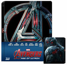 Avengers: Age of Ultron (STEELBOOK) (Blu-ray 3D+Blu-ray) (3D/2D) (2 DISC) (NEW)