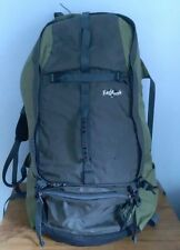 Eagle Creek Ultimate Explorer LT Travel Pack Backpack Black/Green Palm Excellent