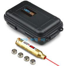 7mm REM MAG Brass Laser Cartridge Bore Sight Boresighter +VERY100 Waterproof Box