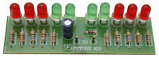 2 Way Audio VU meter 10 LED no need power supply [Assembled Kit][FA102]