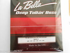 LA BELLA 767-6W WHITE NYLON TAPE WOUND STRINGS FOR FENDER ETC BASS VI 26-95