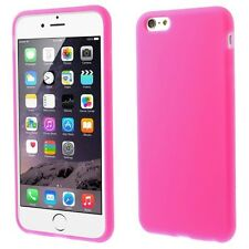 4.7 inch Soft Silicone Flexible Maximum Protection Gel Case for iPhone 6 6S PINK
