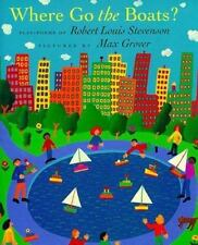 Where Go the Boats?: Play-Poems of Robert Louis Stevenson-ExLibrary