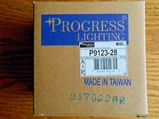 Progress Lighting P9123-28 Floating Canopy Mounts Anywhere On Track, Bright Whit