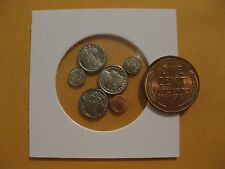 U.S. Coin Miniature collection dollar to penny all 6 coins   CLASSIC set  NICE