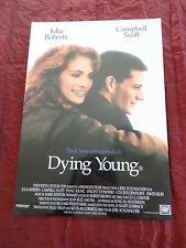 ORIGINAL CINEMA PRESS SHEET - DYING YOUNG -  JULIA ROBERTS-  CAMPBELL SCOTT