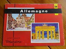 VOLUMETRIX 54 L'ALLEMAGNE livret éducatif 48 images à découper