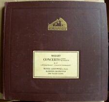 ALBUM-WANDA LANDOWSKA-Piano-Dir. GOEHR-Mozart Concerto D-dur-Fragment-Schellack